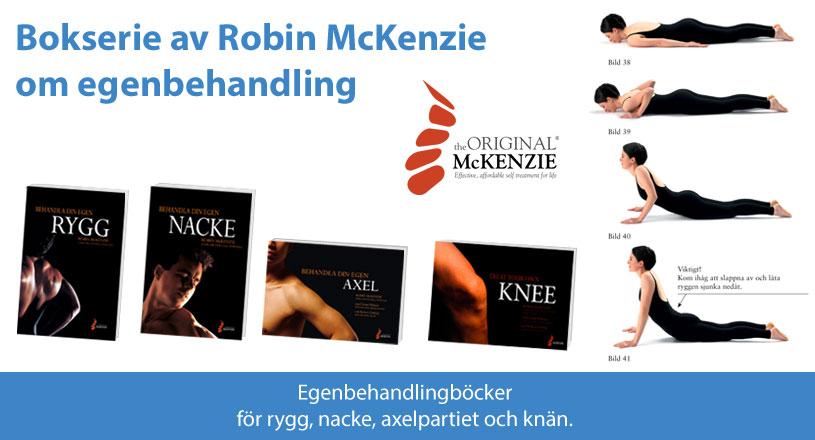 Böcker om egenbehandling av Robin McKenzie