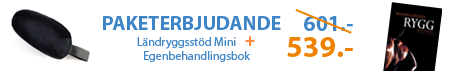 Ländryggsstöd Mini + Egenbehandlingsbok